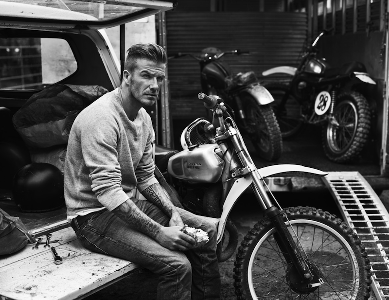 David Beckham is metroszexuális