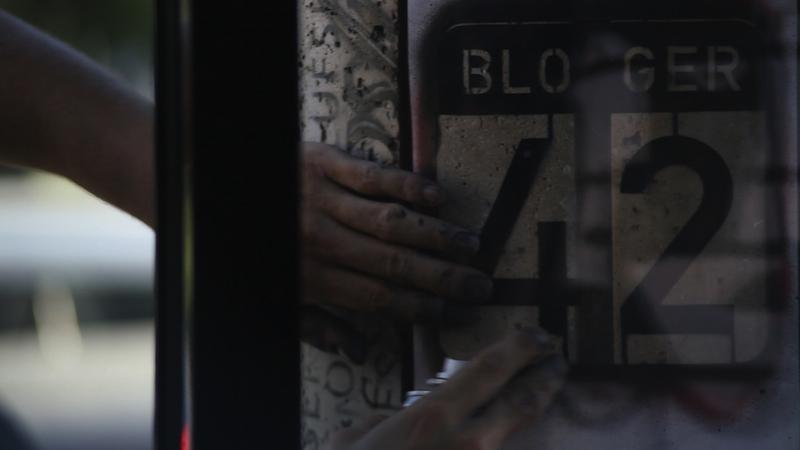 A Blogger42 logó is a pajzs részét képezte