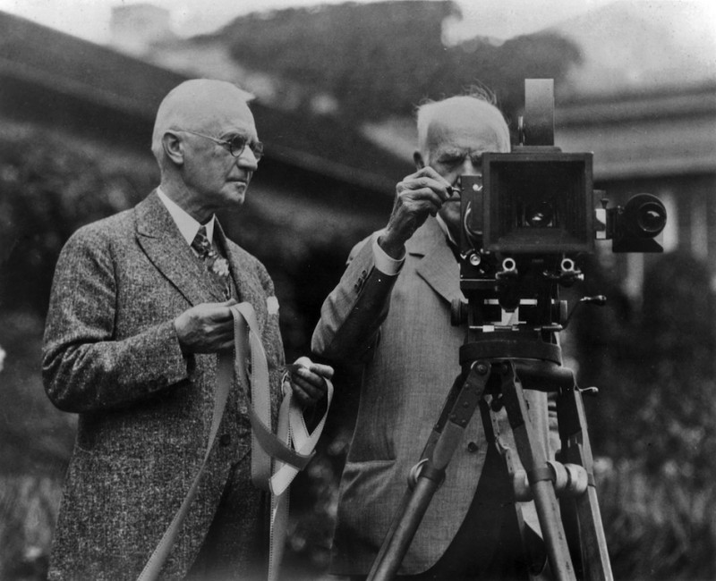 George Eastman és Thomas Edison