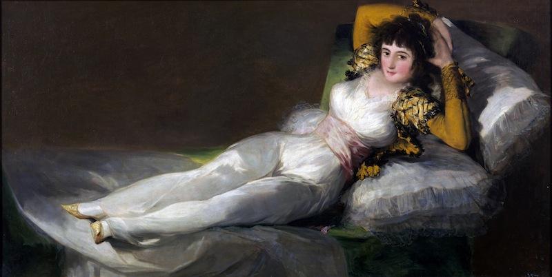 A felöltözött Maja - Francisco de Goya