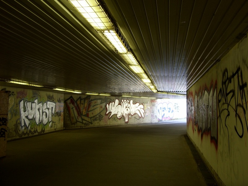 Berlini fal Kelenföldön