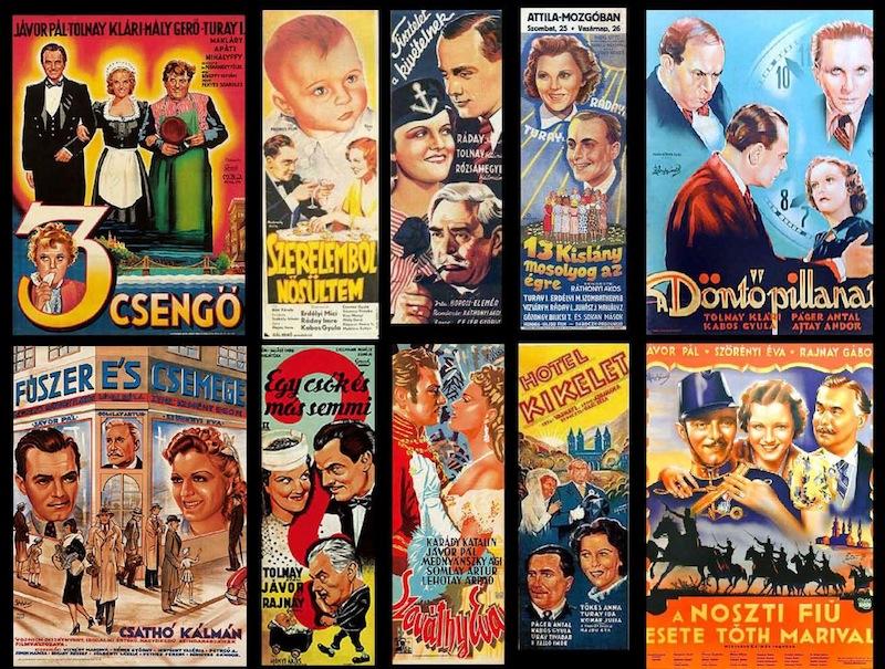 A korszak néhány filmplakátja