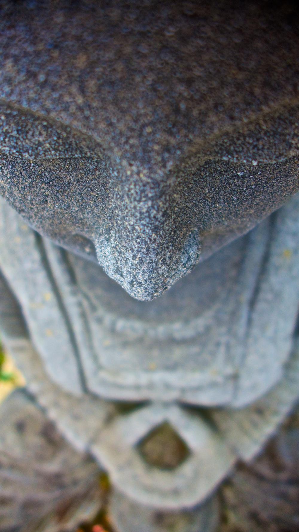 Buddha felülről.