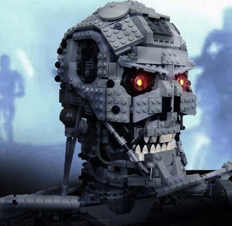 I'll be back LEGO