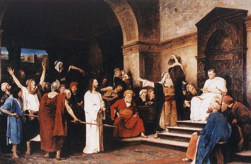 Munkácsy Krisztus Pilátus előtt