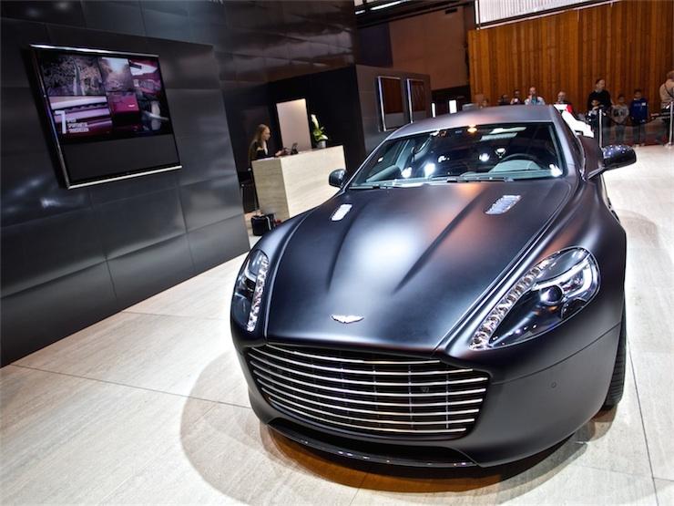 Az Aston Martin is a Bang & Olufsent választotta.