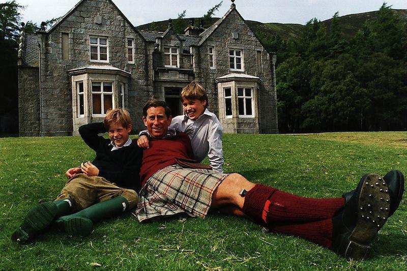 Prince Charles - Prince William - Prince Harry
