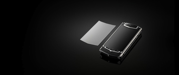 Vertu Ti - Handmade in England powered by Android