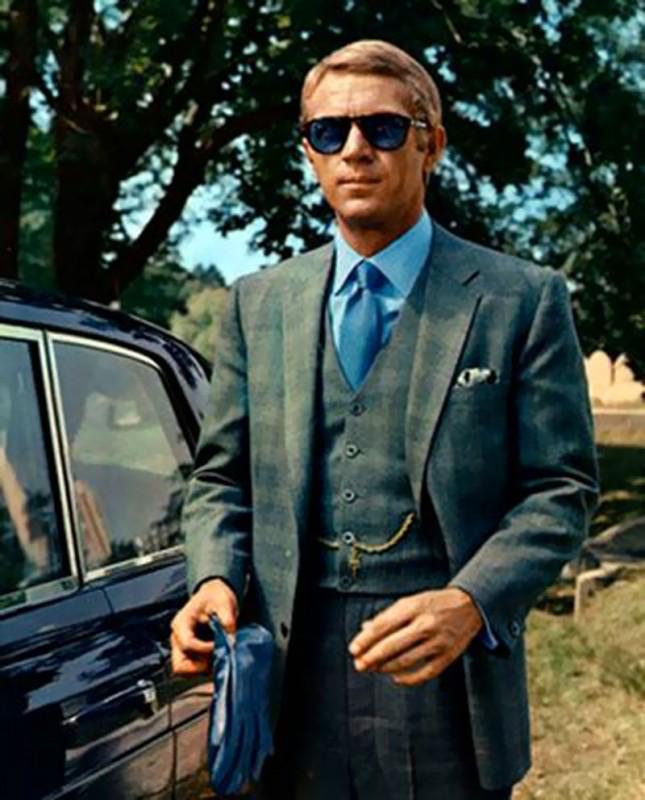 Steeve McQueen az 1968-as The Thomas Crown Affair főszereplőjeként