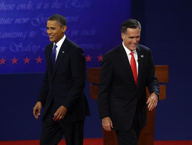 Barack Obama és Mitt Romney