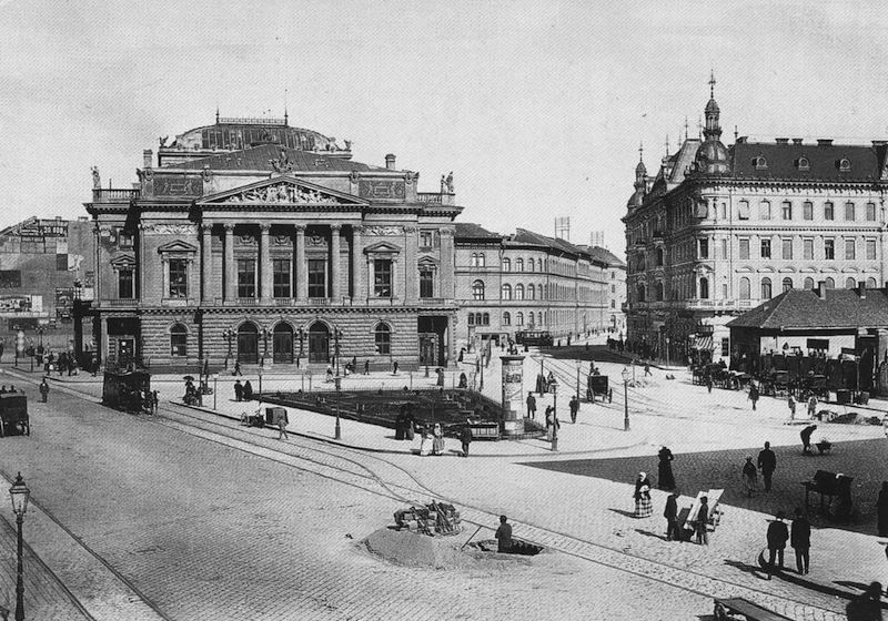 Nemzeti Színház - Blaha Lujza téren