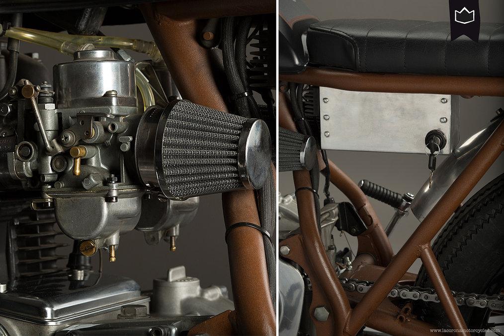 Kawasaki KZ400 by La Corona