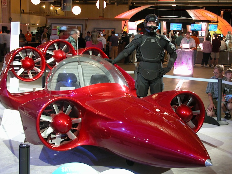 Skycar - Az ember azonban még ma sem elégedett. Tovább álmodik.