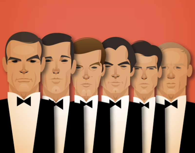 James Bond újragombolva… kemény csapások begombolt zakóban