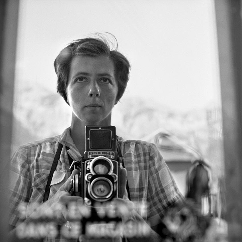 Vivian Maier és a Rolleiflex
